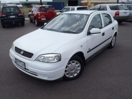 2001 Holden Astra White Automatic Hatchback Traralgon Latrobe Valley Preview