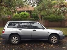 2001 Subaru Forester Wagon North Bondi Eastern Suburbs Preview