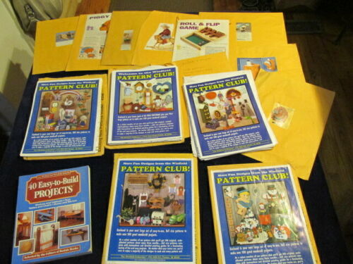 Woodworking Pattern 500+ Project Plan Winfield Sets +++ Most Full Size STa
