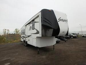 Fifth wheel silver back 3 extensions