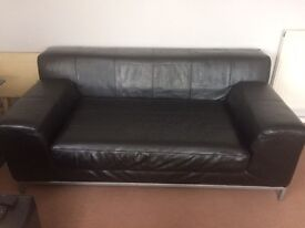 Excelent condition IKEA Leather sofa X2
