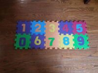 Alphabet & Number pop out mat
