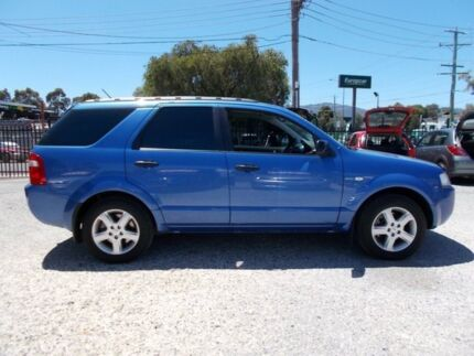 2004 Ford Territory SX TS Blue 4 Speed Sports Automatic Wagon Bayswater North Maroondah Area Preview