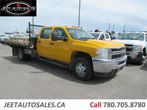 2013 Chevrolet Silverado 3500HD WT Flat Bed