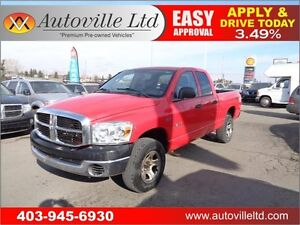 2008 Dodge Ram 1500 4X4 SXT  Everyone Approved
