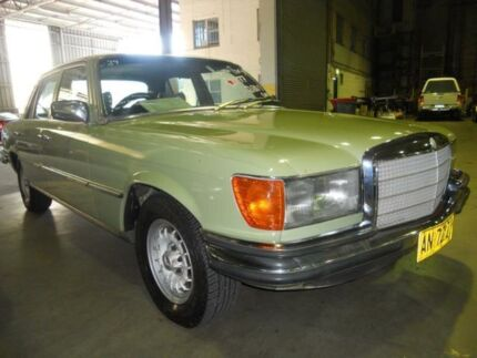 1977 Mercedes-Benz 280 W116 SE Green 4 Speed Automatic Sedan Windsor Hawkesbury Area Preview