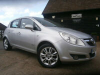 0858 VAUXHALL CORSA 1.4i 16v A/C AUTOMATIC DESIGN 5DR 66K FSH 7 SRVC STAMPS