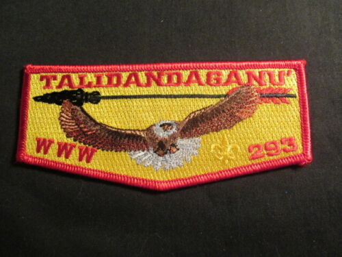 Talidandaganu 293 Red Border, Gold Background, Gold Fleur-de-lis Flap   LK