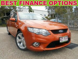 2010 Ford Falcon FG XR6 Ute Super Cab Orange 6 Speed Sports Automatic Utility Underwood Logan Area Preview
