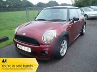 MINI MINI COOPER D- FSH - £20 ROAD TAX - TWO OWNERS - Red Manual Diesel, 2007