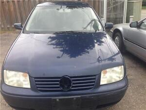 2003 VOLKSWAGEN JETTA TDI FOR PARTS