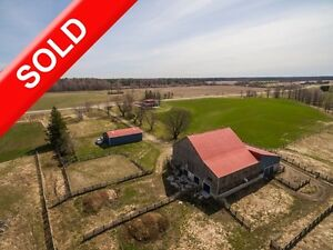SOLD: Certified Organic Bruce County Beef & Crop Farm By Paisley