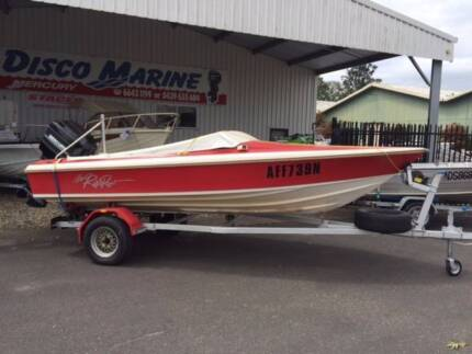 Haines Hunter 1600SO with Mercury 150hp for sale