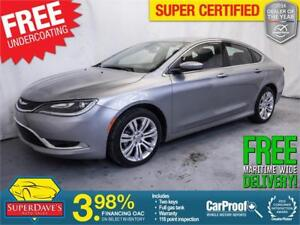 2016 Chrysler 200 Limited *Warranty* $129.35 Bi-Weekly OAC