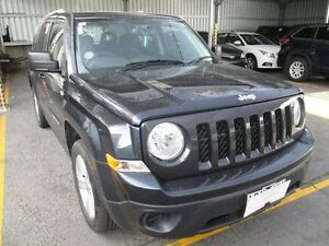 2014 Jeep Patriot MK MY14 Sport (4x2) Grey 6 Speed Automatic Wagon Moorabbin Kingston Area Preview