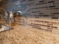 Backsplash Tile Installation - Great Rates and NO GST