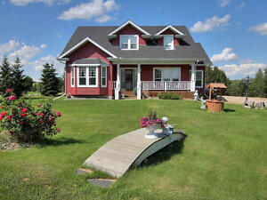 Victorian inspired acreage 5 mins west of Stony Plain on 1.3acre