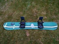 Sims Snowboard and Bindings Size 160