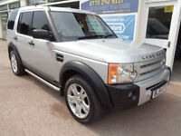Land Rover Discovery 3 2.7TD V6 auto 2005 HSE Nav Sunroof Leather F/S/H
