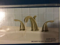Brand new in box Brushed Nickel Bathroom Faucet