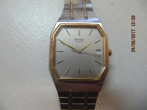 Classic Mens Seiko Quartz Watch Model 6532-5059 Circa 1970-80s