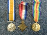 Collector not dealer looking to buy war medals