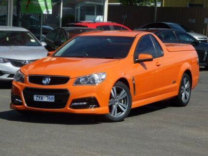 2013 Holden Ute VF MY14 SS Ute Orange 6 Speed Manual Utility