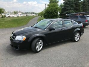 2011 Dodge Avenger SXT, 4 Door, Black, Includes Safety