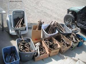 USED Horse Harness and Hames/ Horse shoes