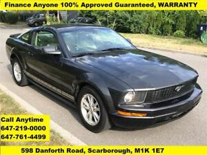 2008 Ford Mustang FINANCE 100% Approved Guaranteed WARRANTY
