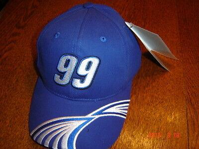 99 Carl Edwards Fastenal Racing Cap Hat Adjustable Cfs New Nascar