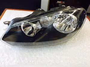 VW GOLF RABBIT GTI LEFT HALOGEN HEADLIGHT OEM 5K0941005C