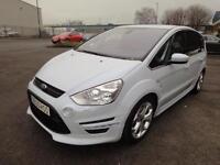 LHD 2013 Ford S-Max 7 Seats Automatic Eco Boost 2.0 Petrol 5Door. SPANISH REGIST