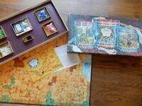 Waddington's Campaign Vintage Napoleonic Era Board Game. Complete Good condition
