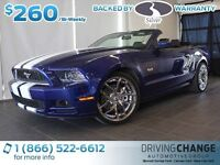 2013 Ford Mustang GT Convertible-20'' Chrome Foose Rims-Heated L