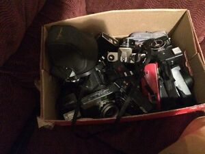 2 boxes of older cameras Kawartha Lakes Peterborough Area image 3