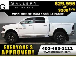 2011 RAM LARAMIE LIFTED *EVERYONE APPROVED* $0 DOWN $209/BW!