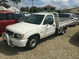 2004 Toyota Hilux Workmate White 5 Speed Manual Trayback Biggera Waters Gold Coast City Preview