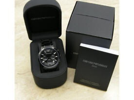 Brand New Armani watch in Original box with Certificate, Manual Book and Tag