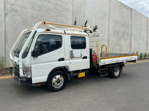 2007 Mitsubishi Canter Crew Cab Tray truck  -Turbo Diesel Engine Bell Park Geelong City Preview