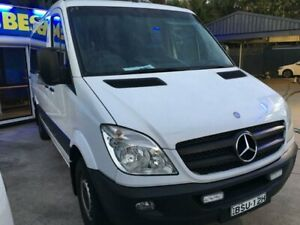 2010 Mercedes-Benz Sprinter NCV3 MY10 316CDI Low Roof MWB White 5 Speed Automatic Van