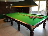 Full Size snooker Table - BCE - Immaculate