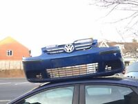 Vw Golf Mk5 Front Bumper and Grill