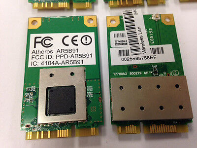 LOT OF 5 Acer Extensa 4630Z Wifi Wireless Card 4104A-AR5B91 BRAND NEW for sale  Shipping to India