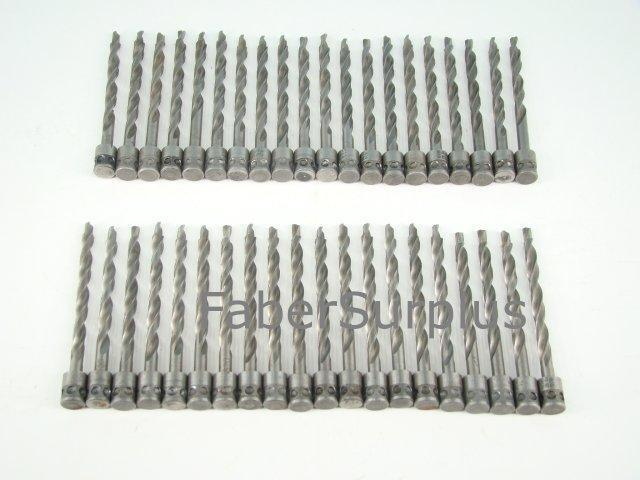 "#20 (.161"")  Aviation 90 Degree Drill Bits  Lot of 40"