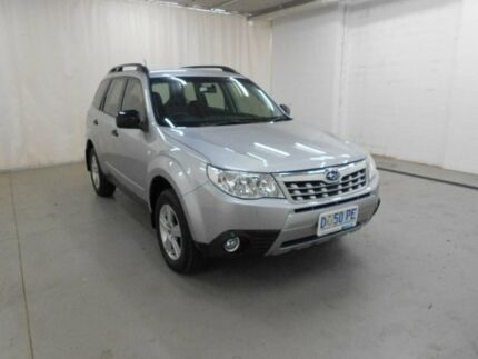 2012 Subaru Forester S3 MY12 X AWD Luxury Edition Silver 5 Speed Manual Wagon Glenorchy Glenorchy Area Preview