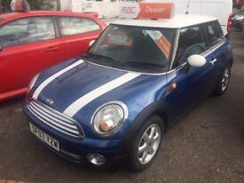 MINI HATCHBACK 1.4 One 3dr (white) 2007