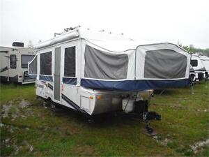 2010 Jayco Jay Series 1206 12' Tent trailer w slide & bike rack