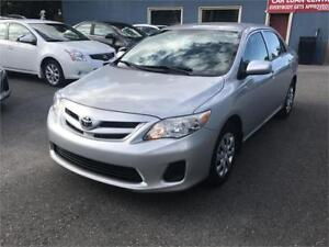 2013 Toyota Corolla CE| Car Loans For Any Credit