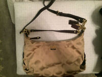 VERY GENTLY USED COACH PURSE